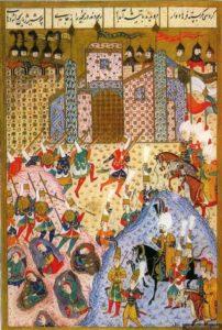 Le siège de Rhodes par Soliman le Magnifique