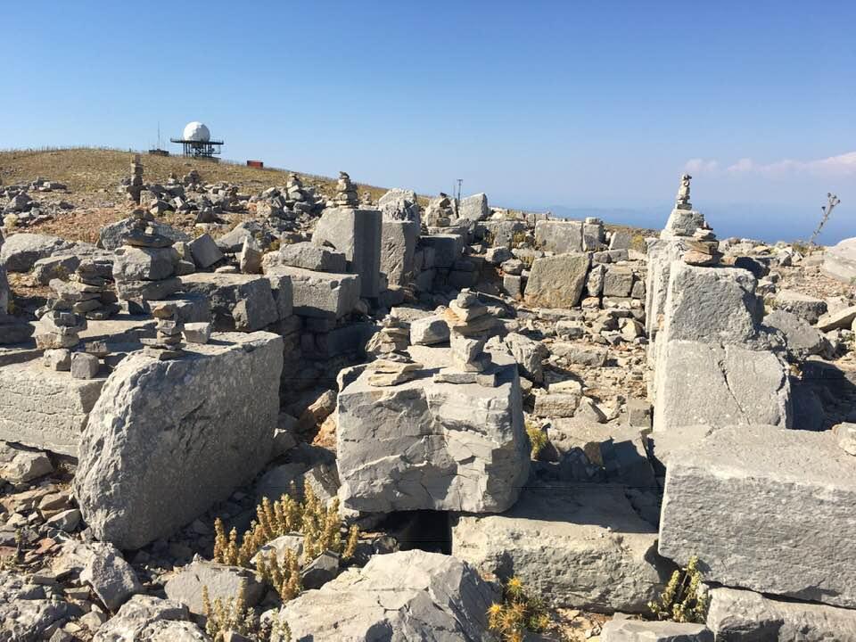 Temple de Zeus à Attavyros