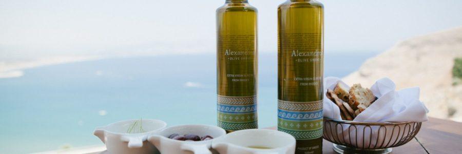 Dégustation d'une huile d'olive médaillée de l'île de Rhodes