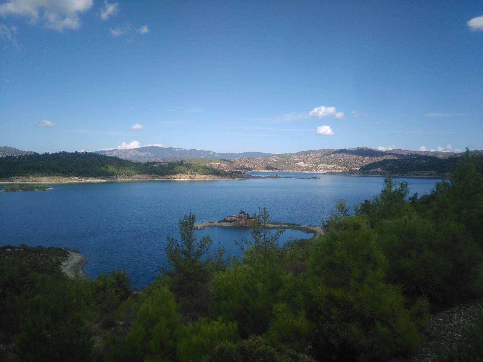 Lac de Gadouras Rhodes