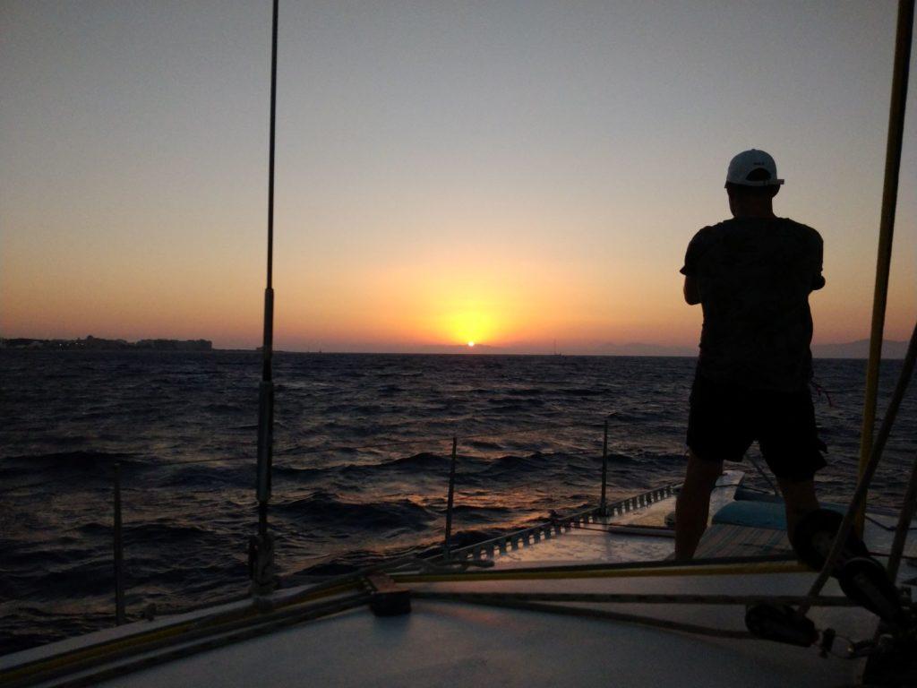 Excursions à Rhodes: croisière coucher de soleil rhodes