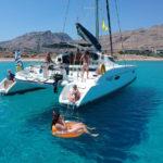Excursions à Rhodes: Sortie catamaran lindos