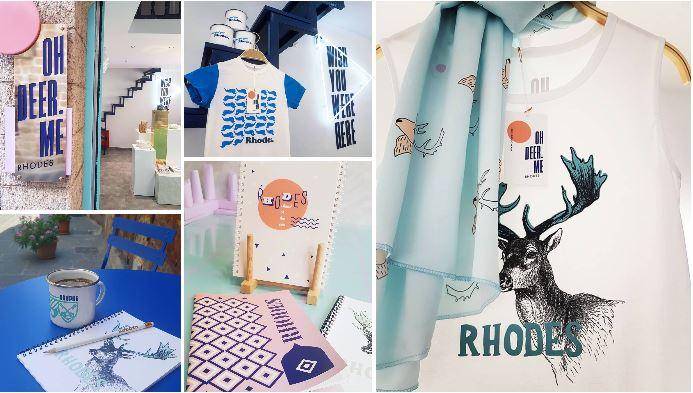 Oh deer.me - Souvenirs de Rhodes
