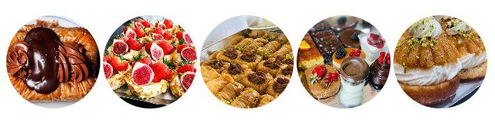 Gâteaux et douceurs de Rhodes