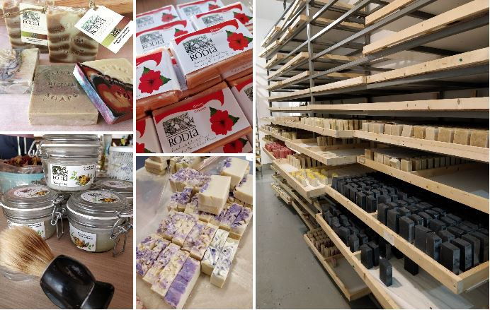 Rodia Soap Factory - Savons artisanaux de Rhodes