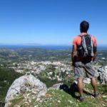 Randonnée au Mont Profitis Ilias